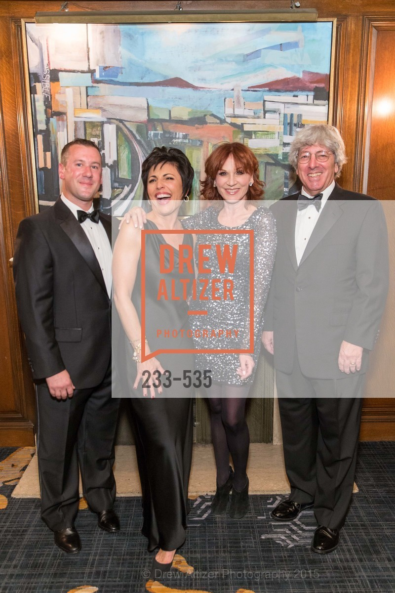 Gus Panagotacos, Joan Dauria, Marilu Henner, Byron Scordelis, Hellenic Charity Ball, Westin St. Francis. 335 Powell Street, November 14th, 2015,Drew Altizer, Drew Altizer Photography, full-service agency, private events, San Francisco photographer, photographer california