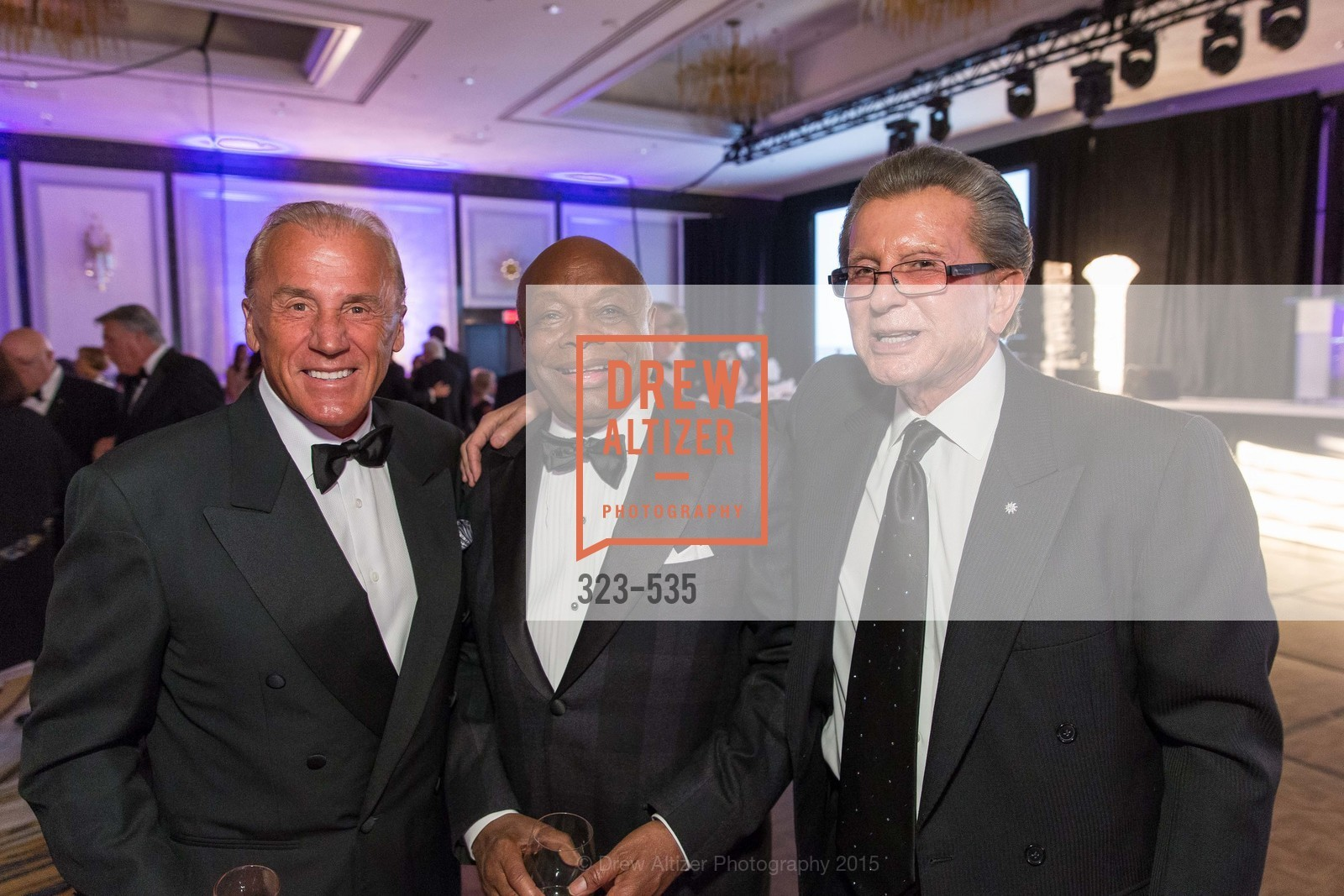 Dean Metropoulos, Willie Brown, George Marcus, Hellenic Charity Ball, Westin St. Francis. 335 Powell Street, November 14th, 2015,Drew Altizer, Drew Altizer Photography, full-service agency, private events, San Francisco photographer, photographer california