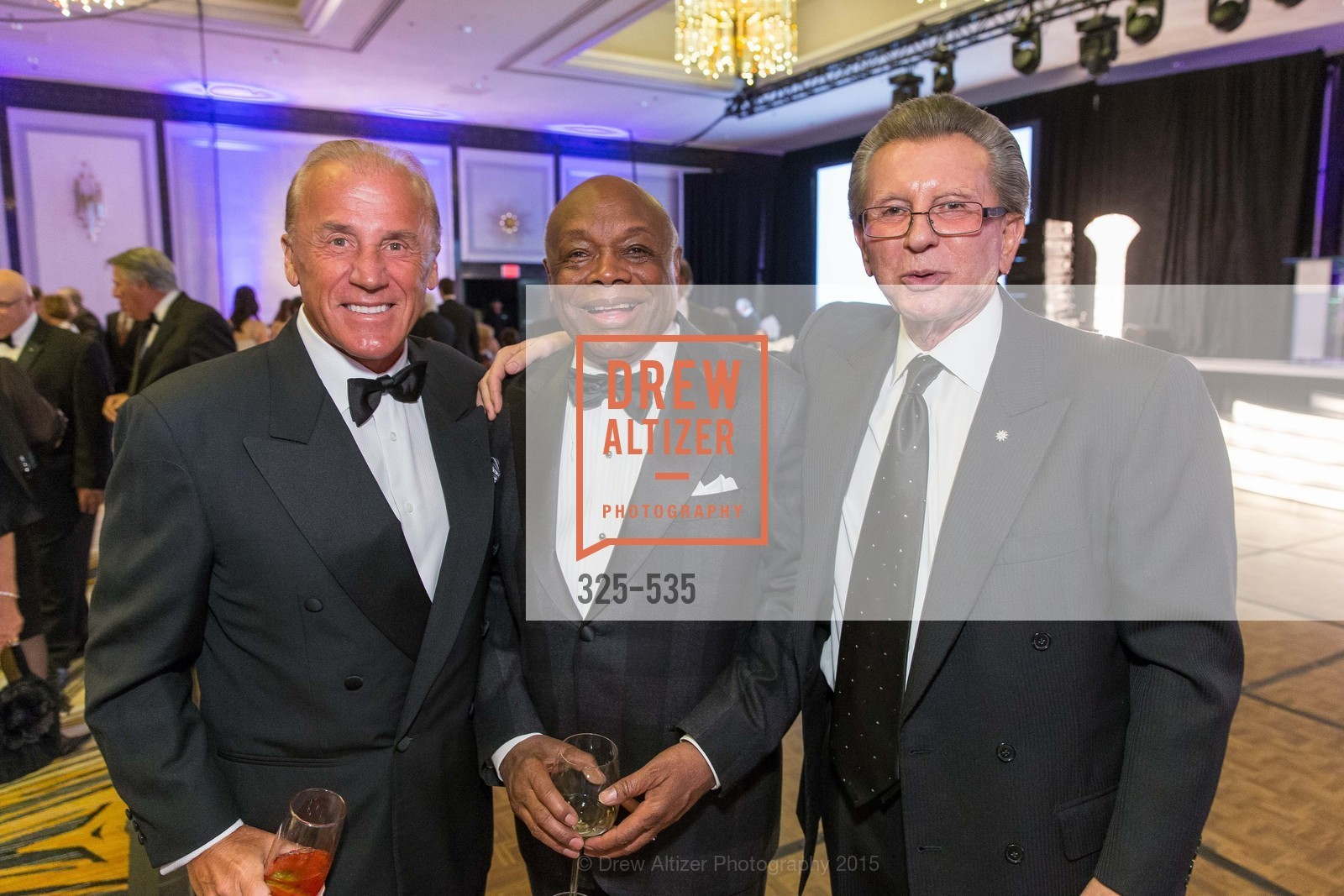 Dean Metropoulos, Willie Brown, George Marcus, Hellenic Charity Ball, Westin St. Francis. 335 Powell Street, November 14th, 2015,Drew Altizer, Drew Altizer Photography, full-service event agency, private events, San Francisco photographer, photographer California