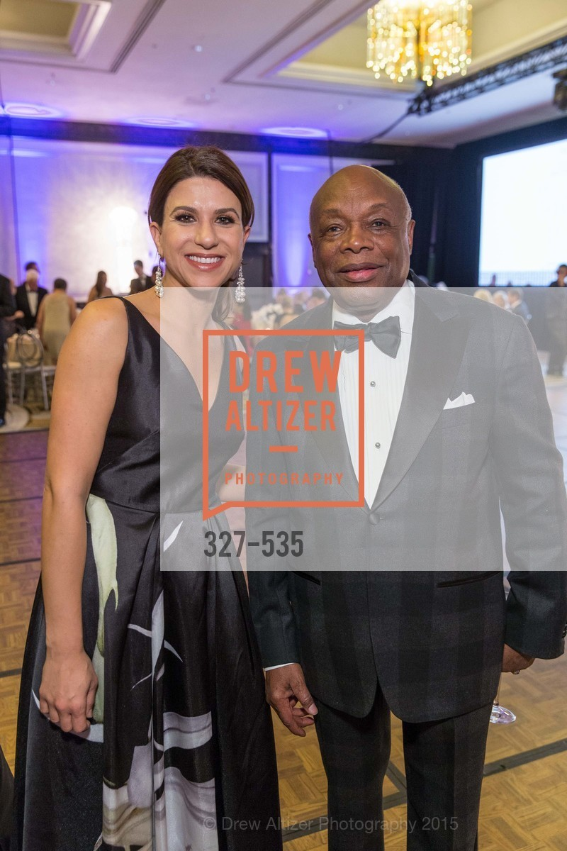 Georgia Tsigaris, Willie Brown, Hellenic Charity Ball, Westin St. Francis. 335 Powell Street, November 14th, 2015