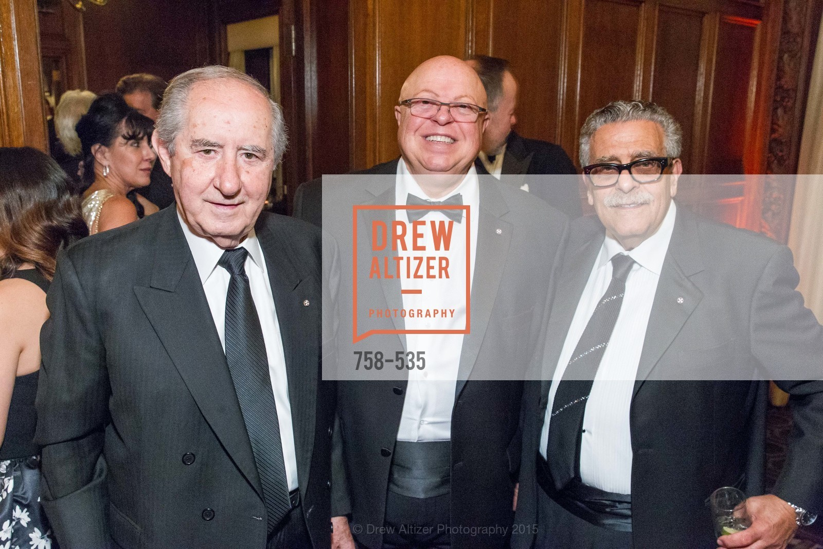 Fanis Economidis, Gerry Ranglas, Ken Frangadakis, Hellenic Charity Ball, Westin St. Francis. 335 Powell Street, November 14th, 2015,Drew Altizer, Drew Altizer Photography, full-service event agency, private events, San Francisco photographer, photographer California