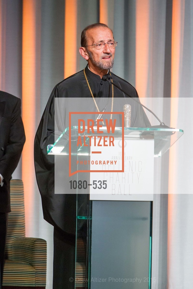 Metropolitan Gerasimos, Hellenic Charity Ball, Westin St. Francis. 335 Powell Street, November 14th, 2015,Drew Altizer, Drew Altizer Photography, full-service agency, private events, San Francisco photographer, photographer california