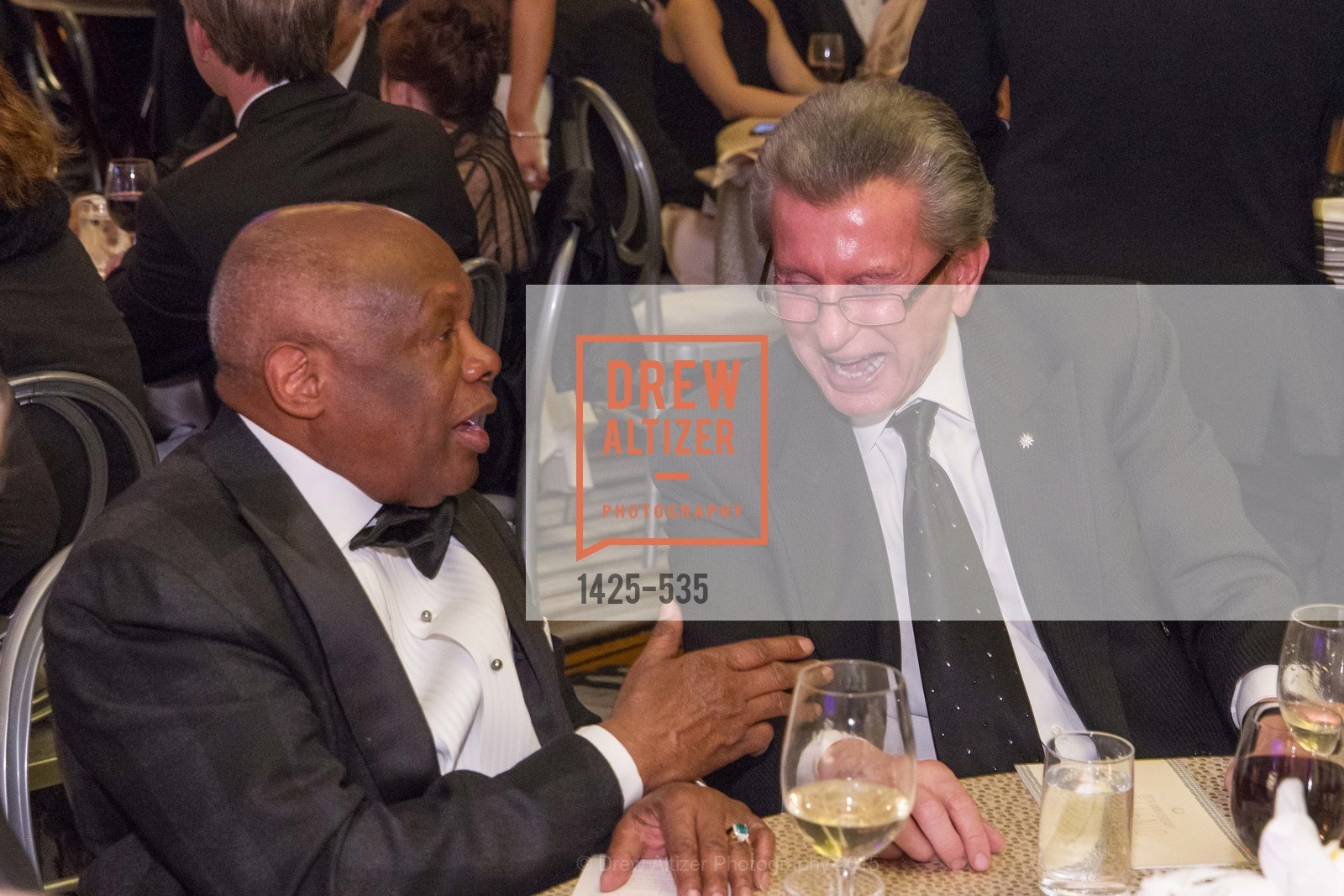 Willie Brown, George Marcus, Hellenic Charity Ball, Westin St. Francis. 335 Powell Street, November 14th, 2015,Drew Altizer, Drew Altizer Photography, full-service agency, private events, San Francisco photographer, photographer california