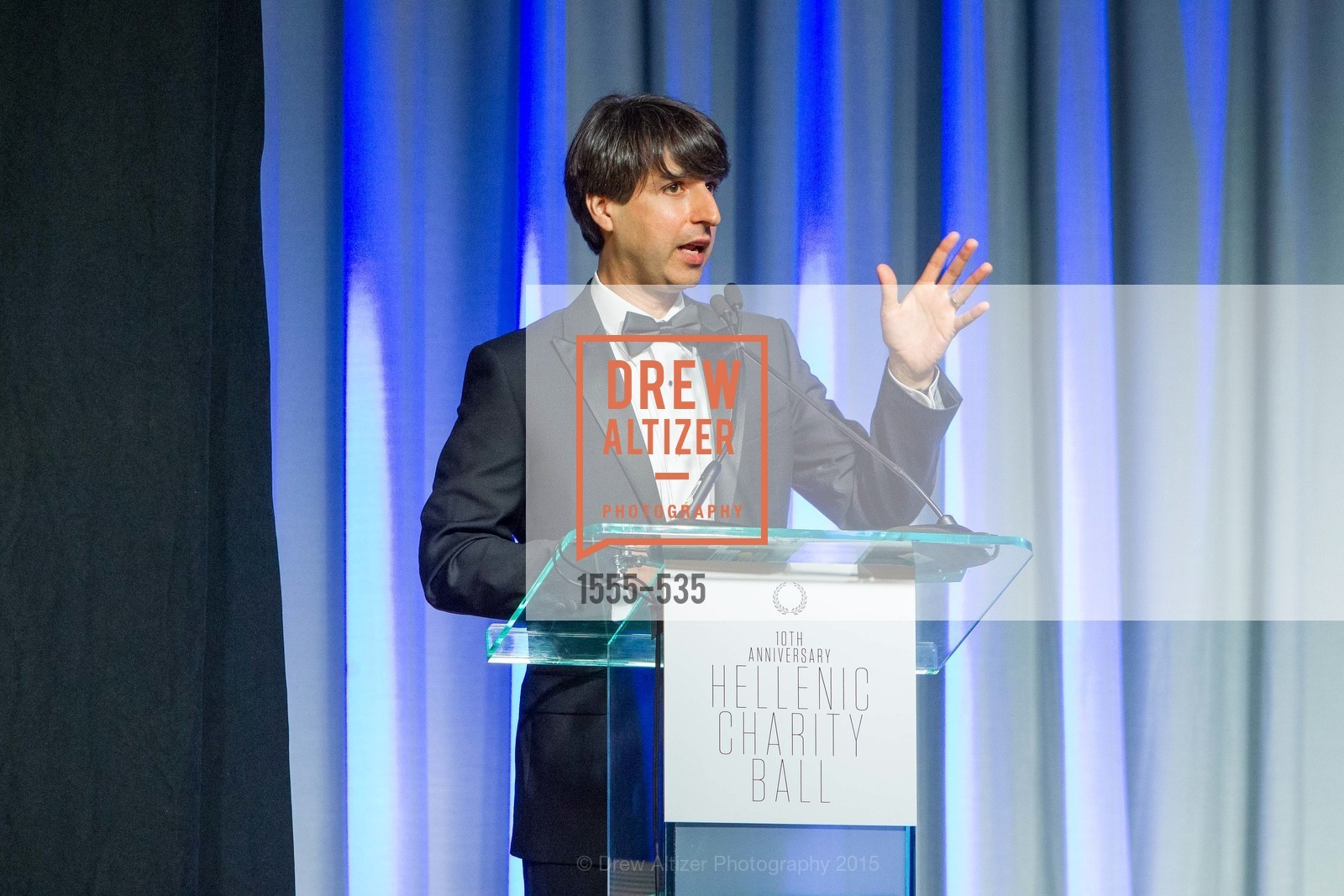 Demetri Martin, Hellenic Charity Ball, Westin St. Francis. 335 Powell Street, November 14th, 2015,Drew Altizer, Drew Altizer Photography, full-service agency, private events, San Francisco photographer, photographer california