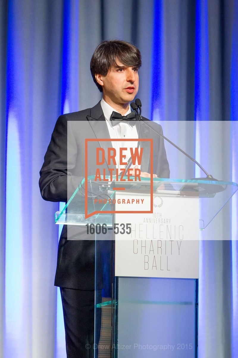 Demetri Martin, Hellenic Charity Ball, Westin St. Francis. 335 Powell Street, November 14th, 2015