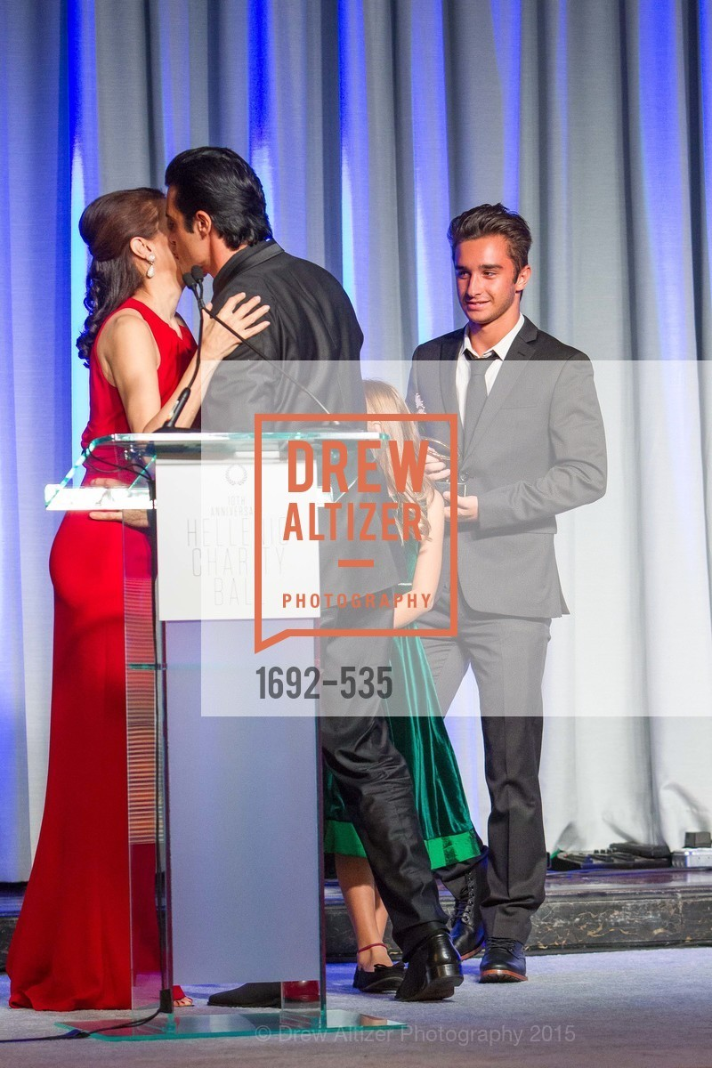 Elaine Alexopoulos, Gilles Marini, George Marini, Hellenic Charity Ball, Westin St. Francis. 335 Powell Street, November 14th, 2015,Drew Altizer, Drew Altizer Photography, full-service agency, private events, San Francisco photographer, photographer california