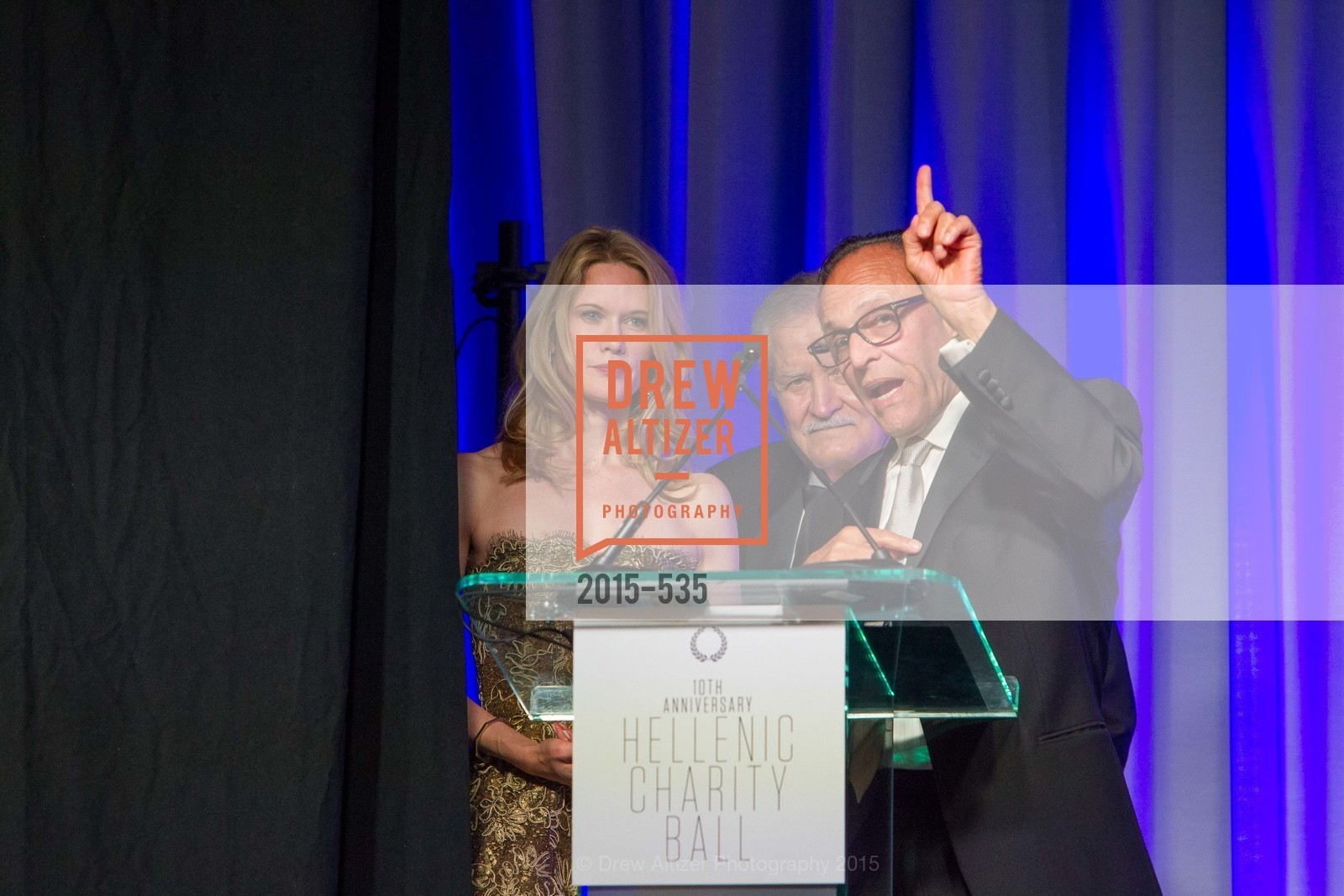 Stephanie March, John Aniston, Constantine Makris, Hellenic Charity Ball, Westin St. Francis. 335 Powell Street, November 14th, 2015,Drew Altizer, Drew Altizer Photography, full-service agency, private events, San Francisco photographer, photographer california