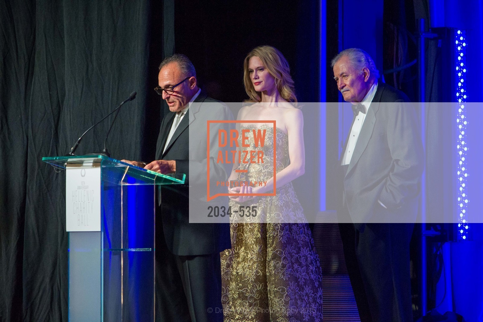 Constantine Makris, Stephanie March, John Aniston, Hellenic Charity Ball, Westin St. Francis. 335 Powell Street, November 14th, 2015,Drew Altizer, Drew Altizer Photography, full-service agency, private events, San Francisco photographer, photographer california