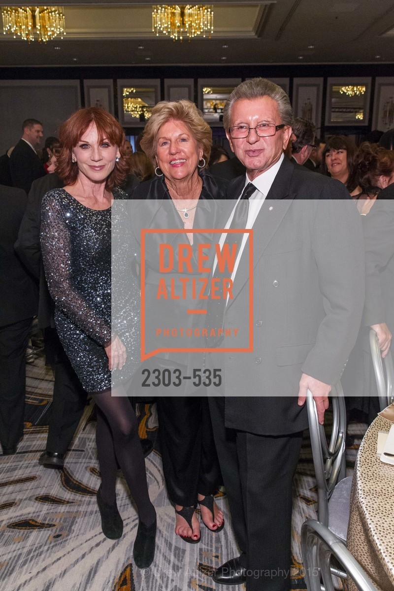 Marilu Henner, Judy Marcus, George Marcus, Hellenic Charity Ball, Westin St. Francis. 335 Powell Street, November 14th, 2015,Drew Altizer, Drew Altizer Photography, full-service agency, private events, San Francisco photographer, photographer california