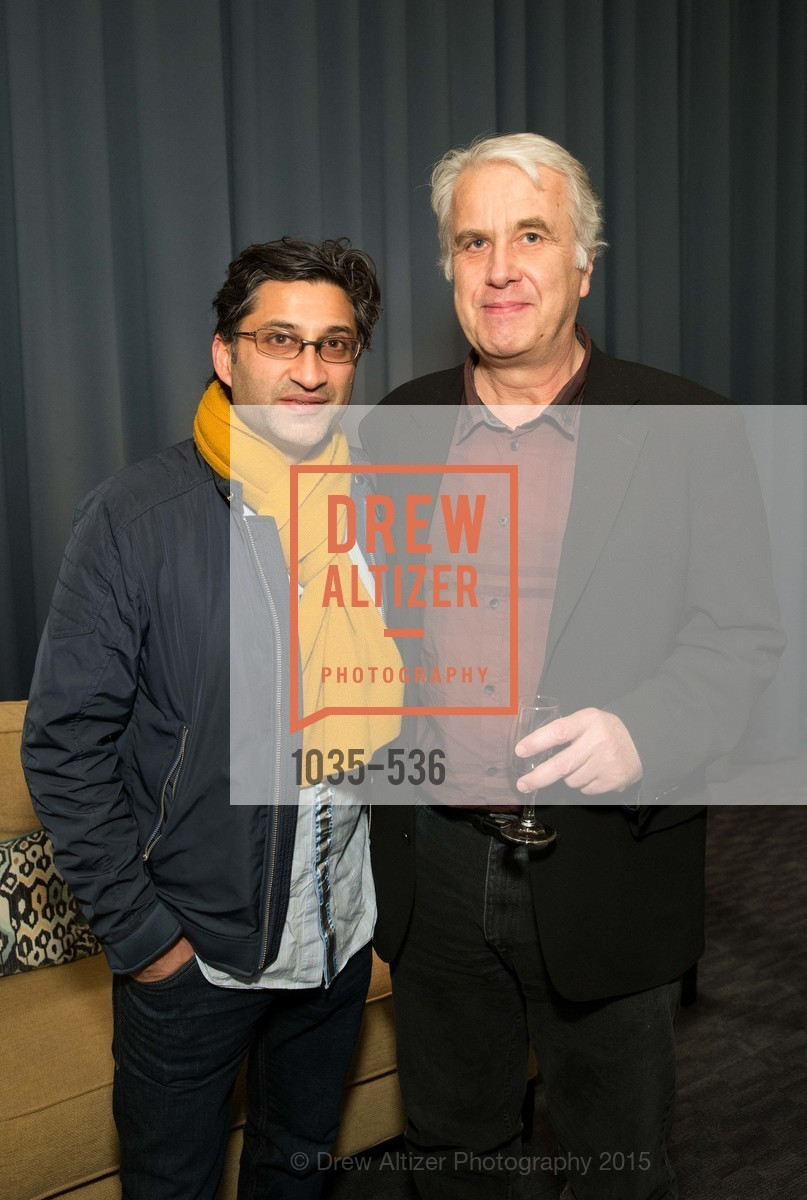 Asif Kapadia, Richard Peterson, AMY Screening with Director Asif Kapadia and Lars Ulrich, Christopher B. Smith Rafael Film Center. 1118 Fourth Street, November 15th, 2015,Drew Altizer, Drew Altizer Photography, full-service agency, private events, San Francisco photographer, photographer california