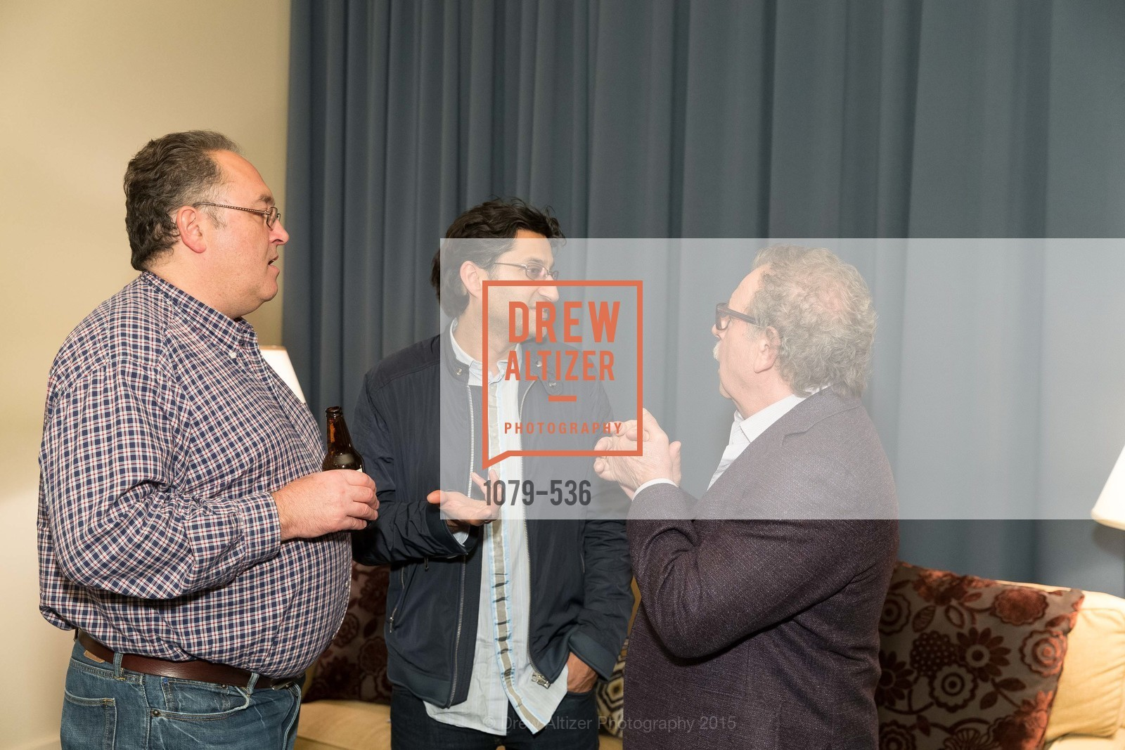 Justin Howard, Asif Kapadia, Mark Fishkin, AMY Screening with Director Asif Kapadia and Lars Ulrich, Christopher B. Smith Rafael Film Center. 1118 Fourth Street, November 15th, 2015,Drew Altizer, Drew Altizer Photography, full-service agency, private events, San Francisco photographer, photographer california