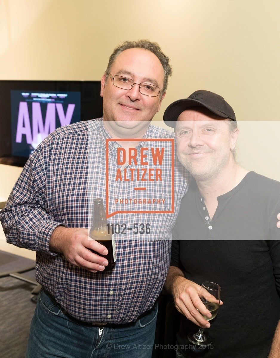 Justin Howard, Lars Ulrich, AMY Screening with Director Asif Kapadia and Lars Ulrich, Christopher B. Smith Rafael Film Center. 1118 Fourth Street, November 15th, 2015,Drew Altizer, Drew Altizer Photography, full-service agency, private events, San Francisco photographer, photographer california