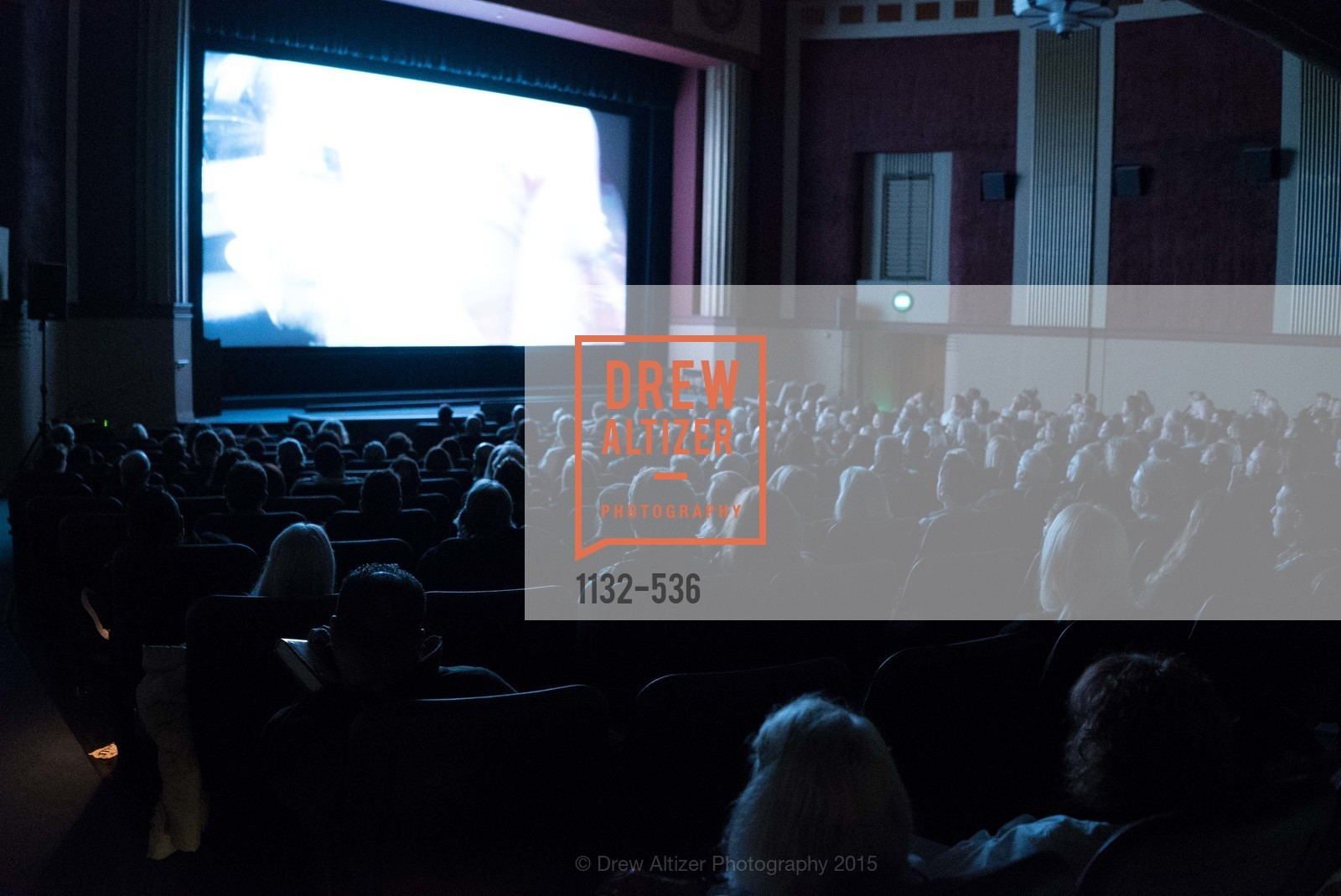 Stage, AMY Screening with Director Asif Kapadia and Lars Ulrich, Christopher B. Smith Rafael Film Center. 1118 Fourth Street, November 15th, 2015,Drew Altizer, Drew Altizer Photography, full-service event agency, private events, San Francisco photographer, photographer California