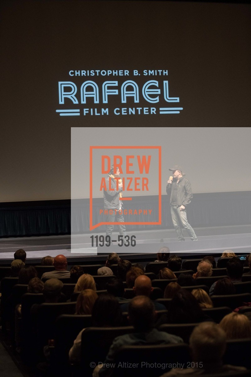 Stage, AMY Screening with Director Asif Kapadia and Lars Ulrich, Christopher B. Smith Rafael Film Center. 1118 Fourth Street, November 15th, 2015,Drew Altizer, Drew Altizer Photography, full-service agency, private events, San Francisco photographer, photographer california