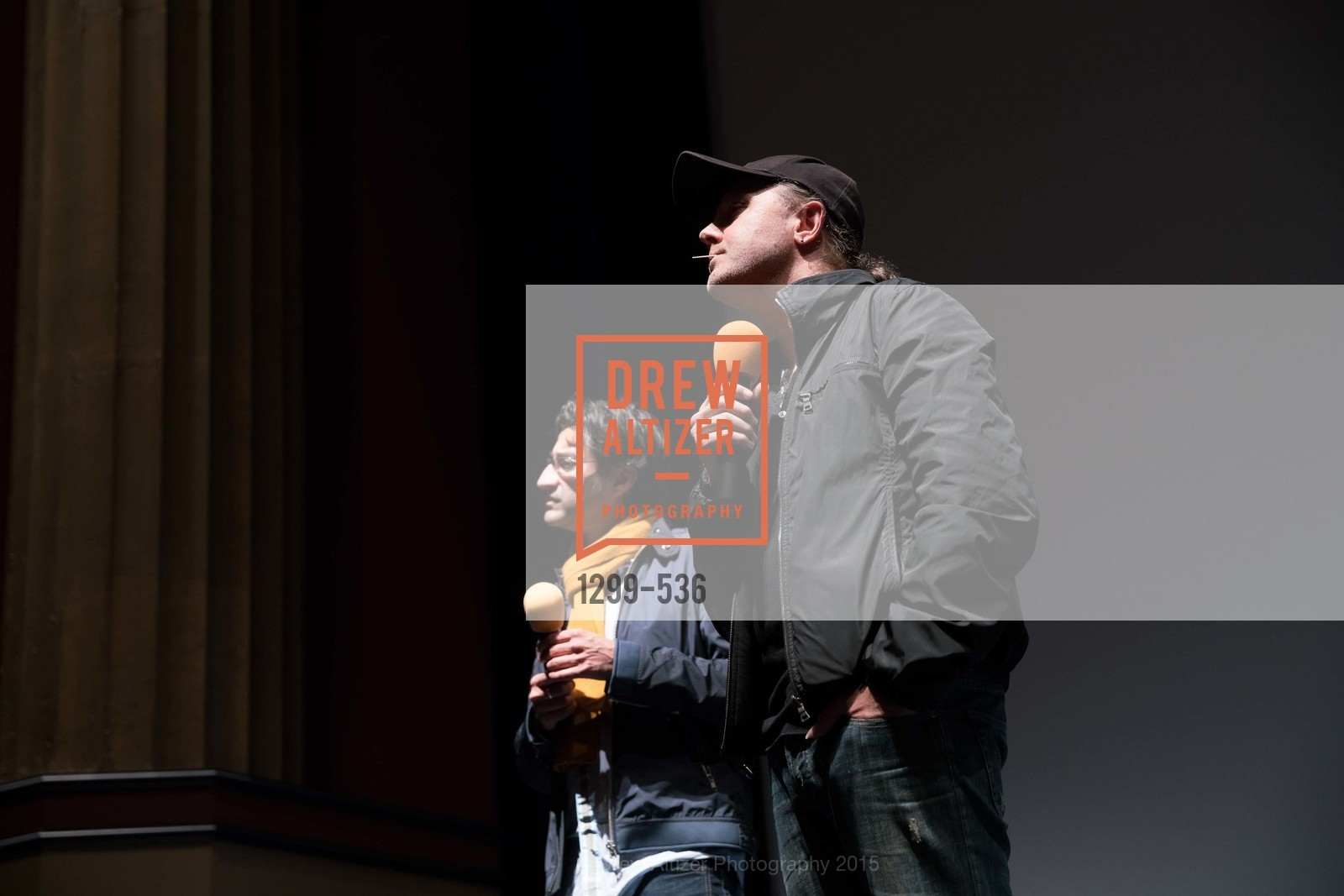 Asif Kapadia, Lars Ulrich, AMY Screening with Director Asif Kapadia and Lars Ulrich, Christopher B. Smith Rafael Film Center. 1118 Fourth Street, November 15th, 2015,Drew Altizer, Drew Altizer Photography, full-service agency, private events, San Francisco photographer, photographer california