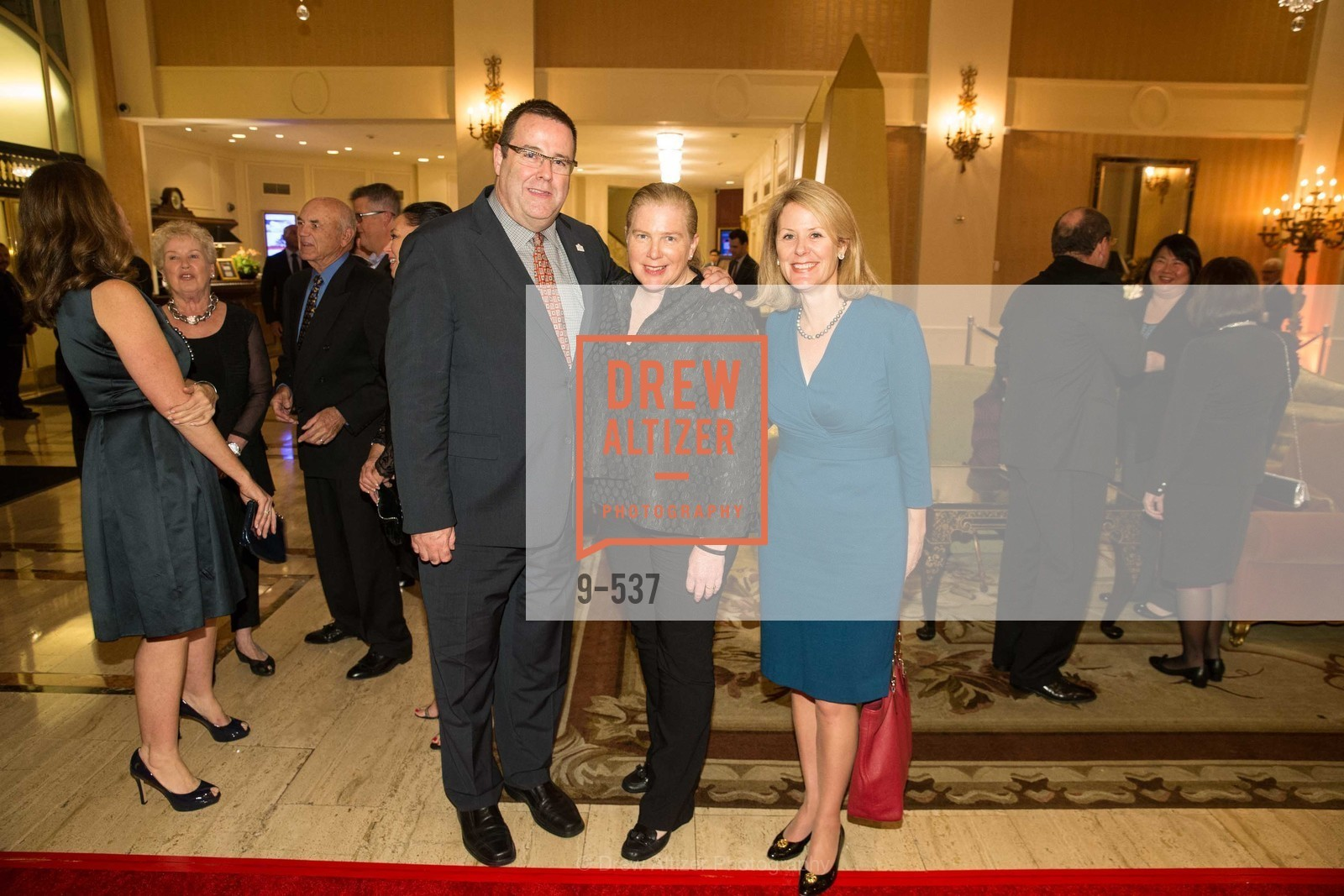Kevin Carroll, Joanne Hayes-White, Kelly Powers, TOP OF THE MARK'S 75TH Anniversary Party, US, November 6th, 2014,Drew Altizer, Drew Altizer Photography, full-service agency, private events, San Francisco photographer, photographer california