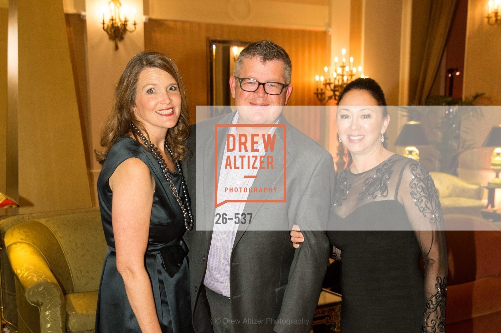 Meg Conrad, Charlie Conrad, Lisa Brady, TOP OF THE MARK'S 75TH Anniversary Party, US, November 7th, 2014,Drew Altizer, Drew Altizer Photography, full-service agency, private events, San Francisco photographer, photographer california