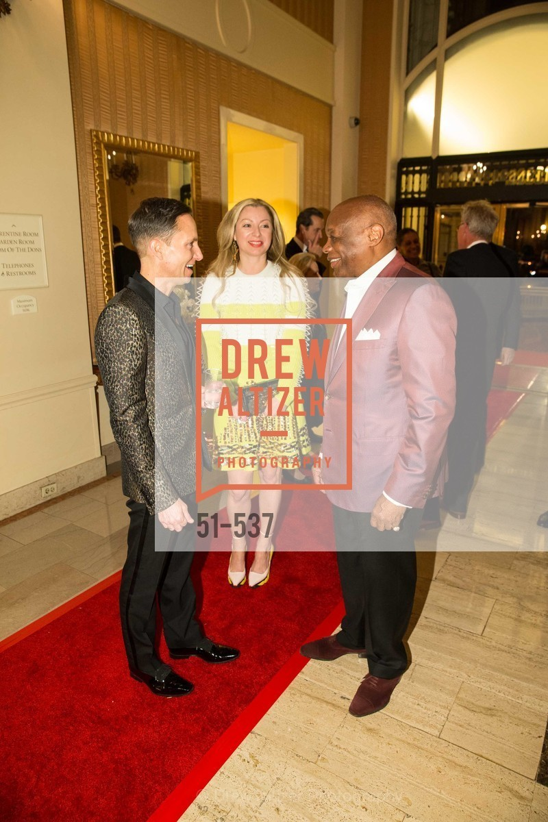 Ken Fulk, Sonya Molodetskaya, Willie Brown, TOP OF THE MARK'S 75TH Anniversary Party, US, November 7th, 2014