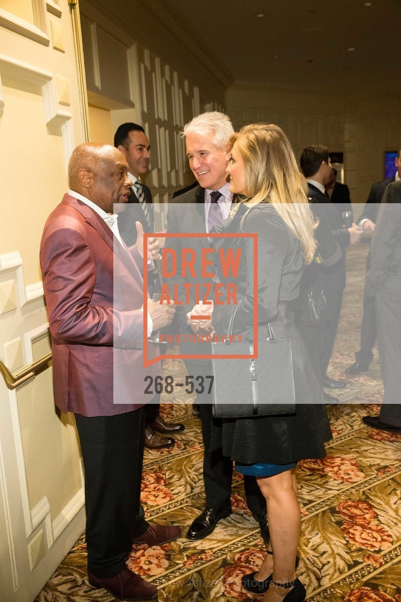 Willie Brown, George Gascon, Fabiola Gascon, TOP OF THE MARK'S 75TH Anniversary Party, US, November 7th, 2014,Drew Altizer, Drew Altizer Photography, full-service agency, private events, San Francisco photographer, photographer california