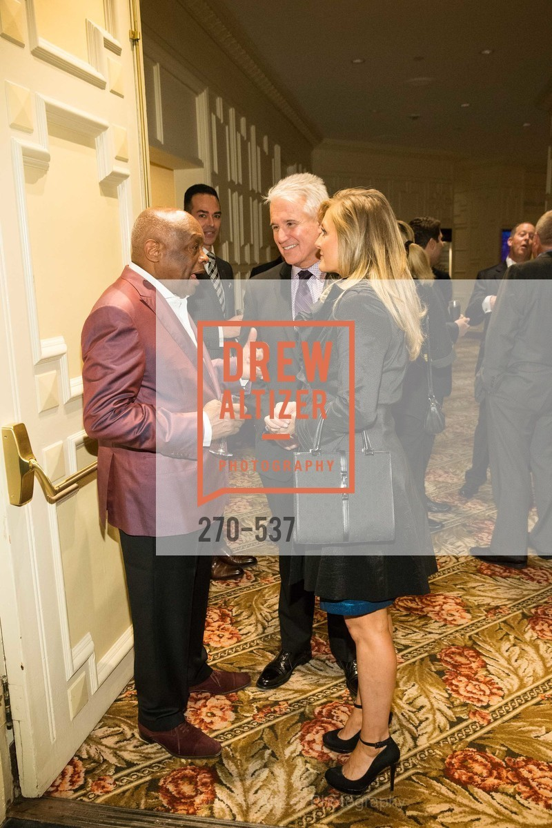 Willie Brown, George Gascon, Fabiola Gascon, TOP OF THE MARK'S 75TH Anniversary Party, US, November 6th, 2014,Drew Altizer, Drew Altizer Photography, full-service agency, private events, San Francisco photographer, photographer california