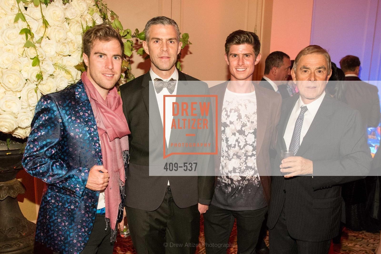 Matthew Kimball, James Rogers, Michael Roderick, John Cello, Photo #409-537