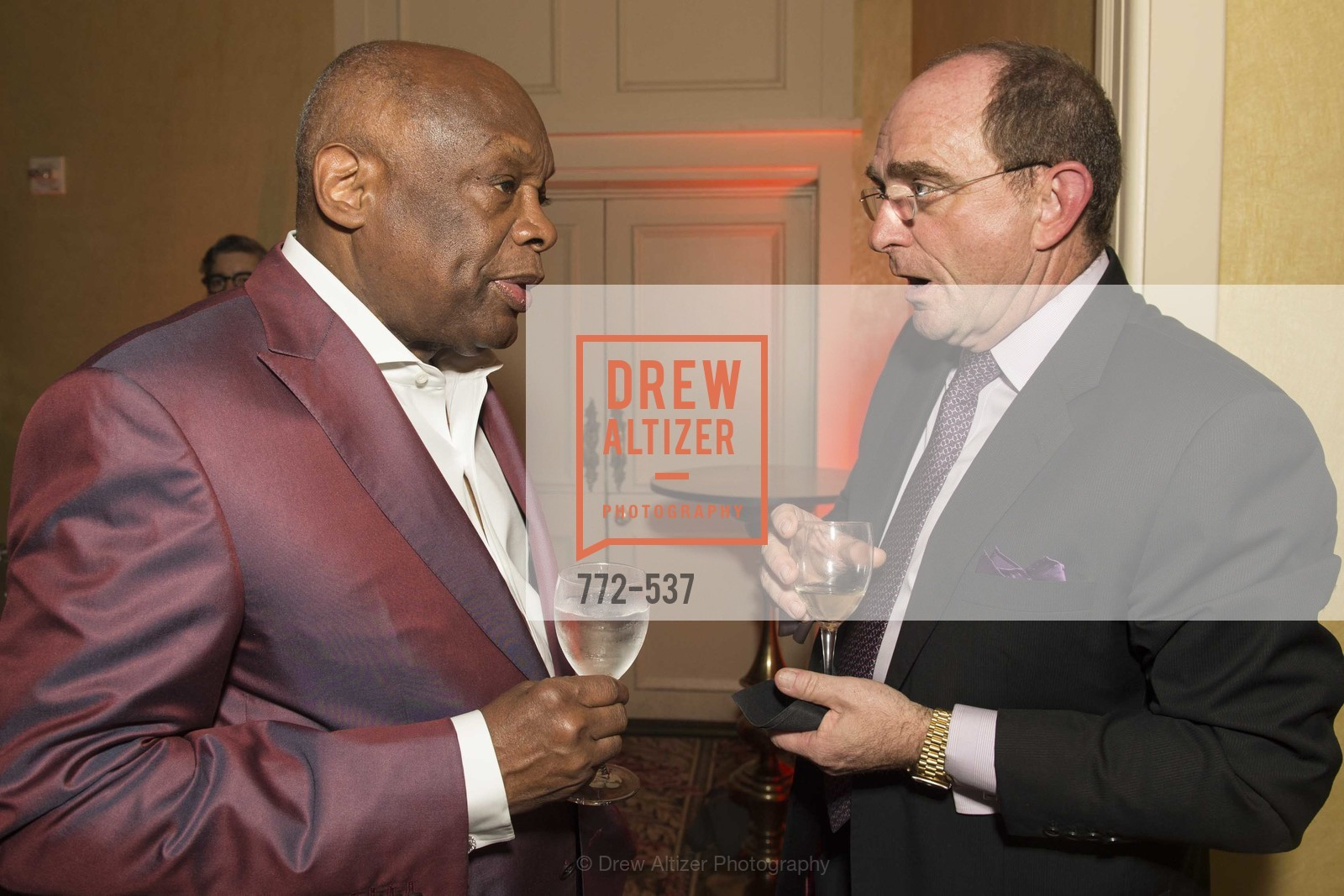 Willie Brown, Tom Klein, TOP OF THE MARK'S 75TH Anniversary Party, US, November 7th, 2014,Drew Altizer, Drew Altizer Photography, full-service agency, private events, San Francisco photographer, photographer california