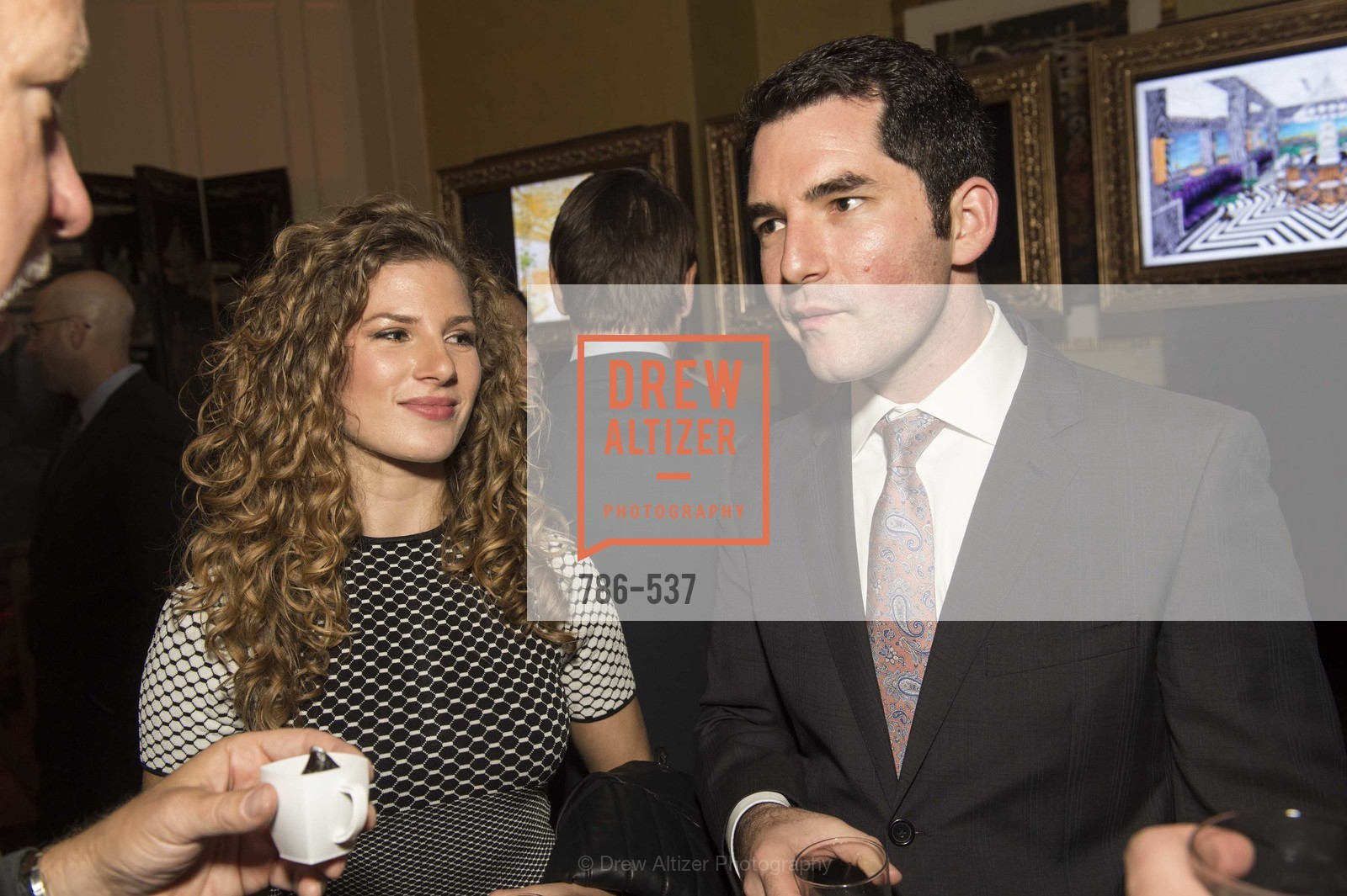 Adriana Volocsky, Sam Aperbach, TOP OF THE MARK'S 75TH Anniversary Party, US, November 7th, 2014,Drew Altizer, Drew Altizer Photography, full-service agency, private events, San Francisco photographer, photographer california