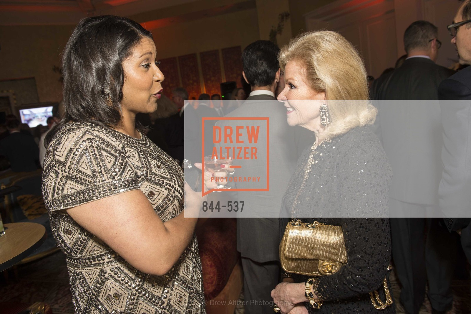 London Breed, Dede Wilsey, TOP OF THE MARK'S 75TH Anniversary Party, US, November 7th, 2014,Drew Altizer, Drew Altizer Photography, full-service event agency, private events, San Francisco photographer, photographer California