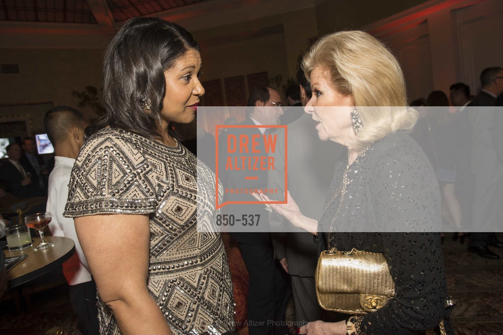 London Breed, Dede Wilsey, TOP OF THE MARK'S 75TH Anniversary Party, US, November 7th, 2014,Drew Altizer, Drew Altizer Photography, full-service agency, private events, San Francisco photographer, photographer california
