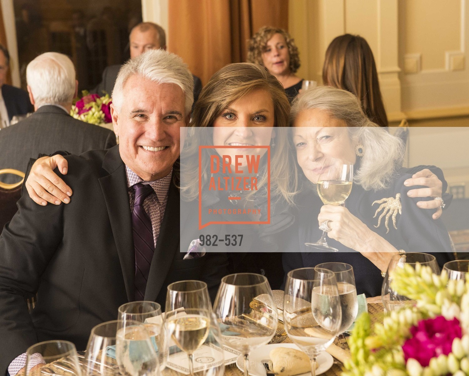 George Gascon, Fabiola Gascon, Denise Hale, TOP OF THE MARK'S 75TH Anniversary Party, US, November 6th, 2014,Drew Altizer, Drew Altizer Photography, full-service agency, private events, San Francisco photographer, photographer california