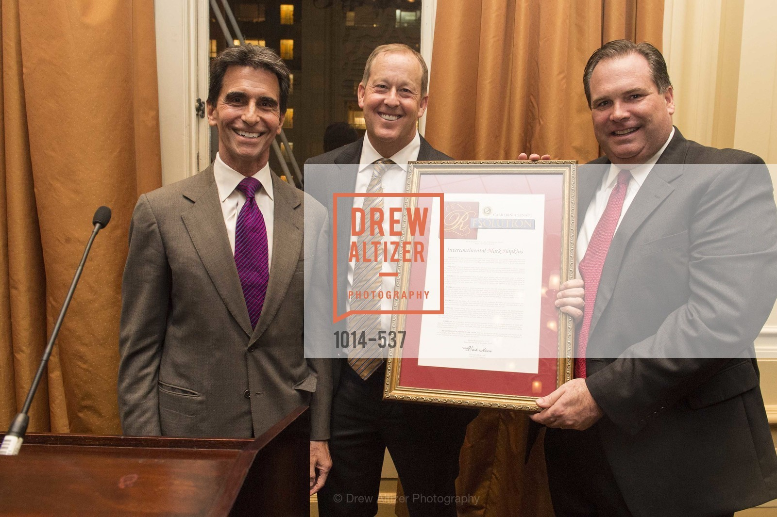 Mark Leno, Michael Rosenfeld, John Brady, TOP OF THE MARK'S 75TH Anniversary Party, US, November 7th, 2014,Drew Altizer, Drew Altizer Photography, full-service agency, private events, San Francisco photographer, photographer california