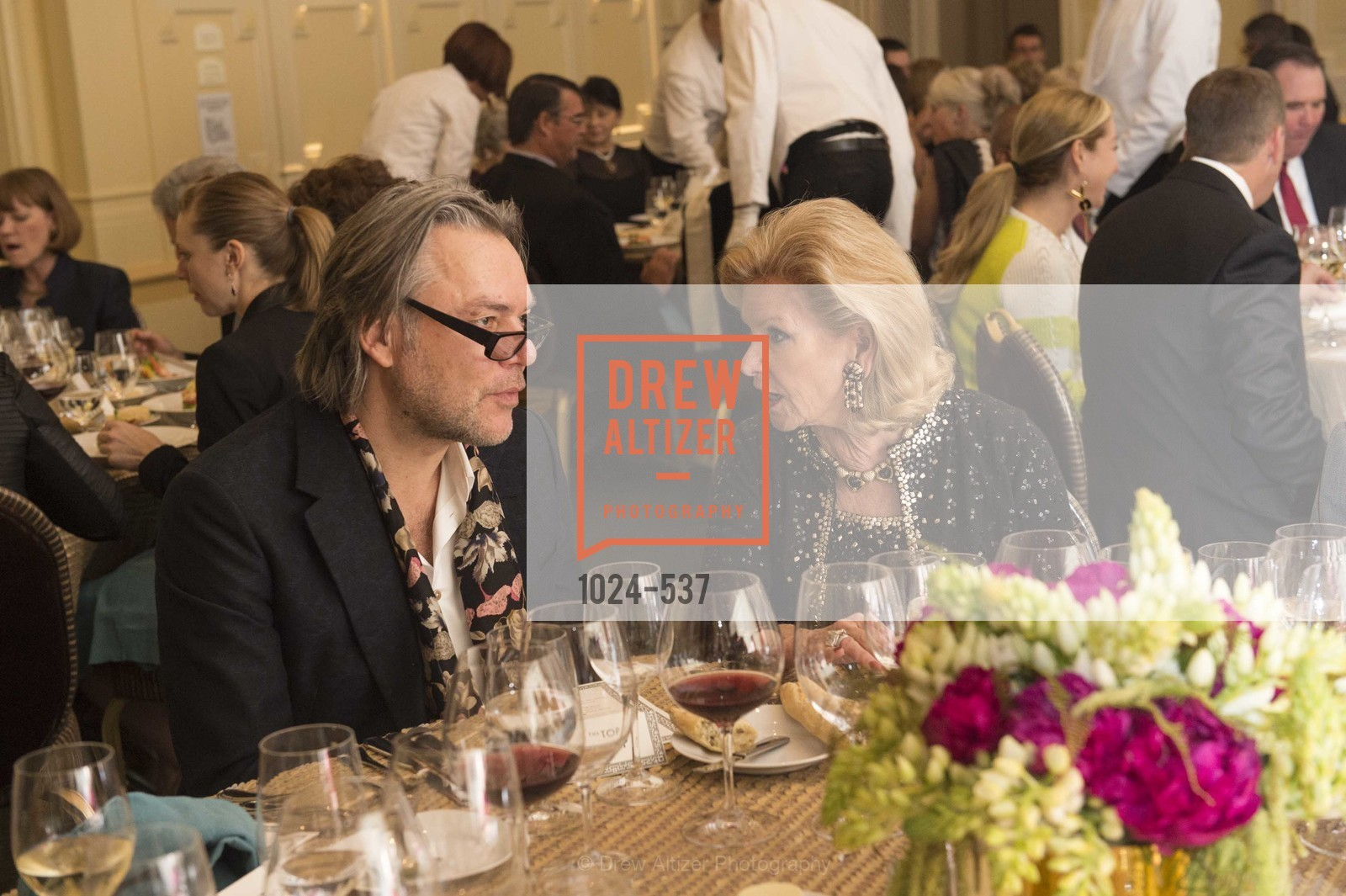 David Downton, Dede Wilsey, TOP OF THE MARK'S 75TH Anniversary Party, US, November 6th, 2014,Drew Altizer, Drew Altizer Photography, full-service agency, private events, San Francisco photographer, photographer california