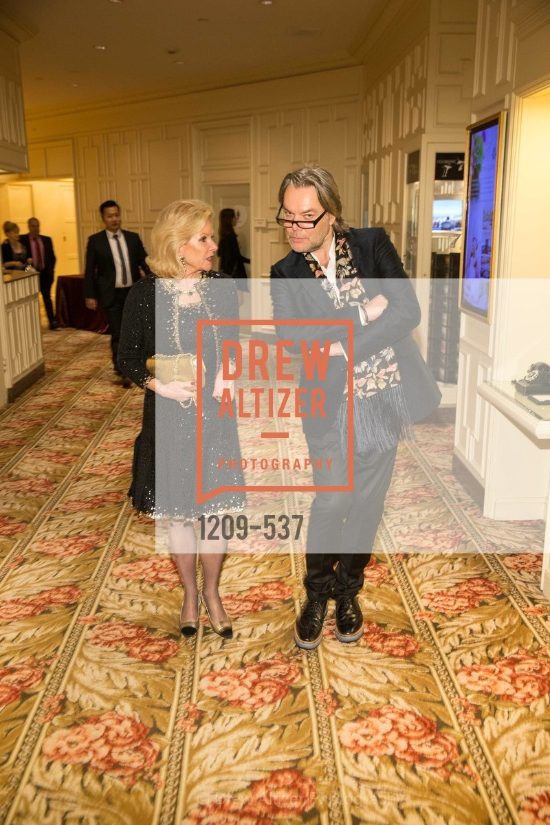 Dede Wilsey, David Downton, TOP OF THE MARK'S 75TH Anniversary Party, US, November 7th, 2014