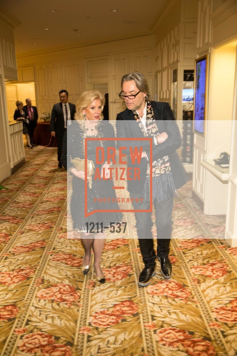 Dede Wilsey, David Downton, TOP OF THE MARK'S 75TH Anniversary Party, US, November 6th, 2014,Drew Altizer, Drew Altizer Photography, full-service agency, private events, San Francisco photographer, photographer california