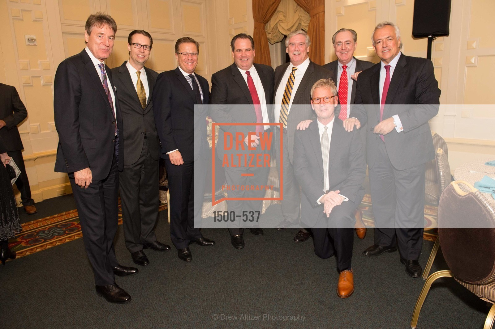Peter Koehler, Marcus Drench, Jolyon Bulley, John Brady, Gary Stougaard, JT Echeverrigaray, TOP OF THE MARK'S 75TH Anniversary Party, US, November 6th, 2014,Drew Altizer, Drew Altizer Photography, full-service agency, private events, San Francisco photographer, photographer california