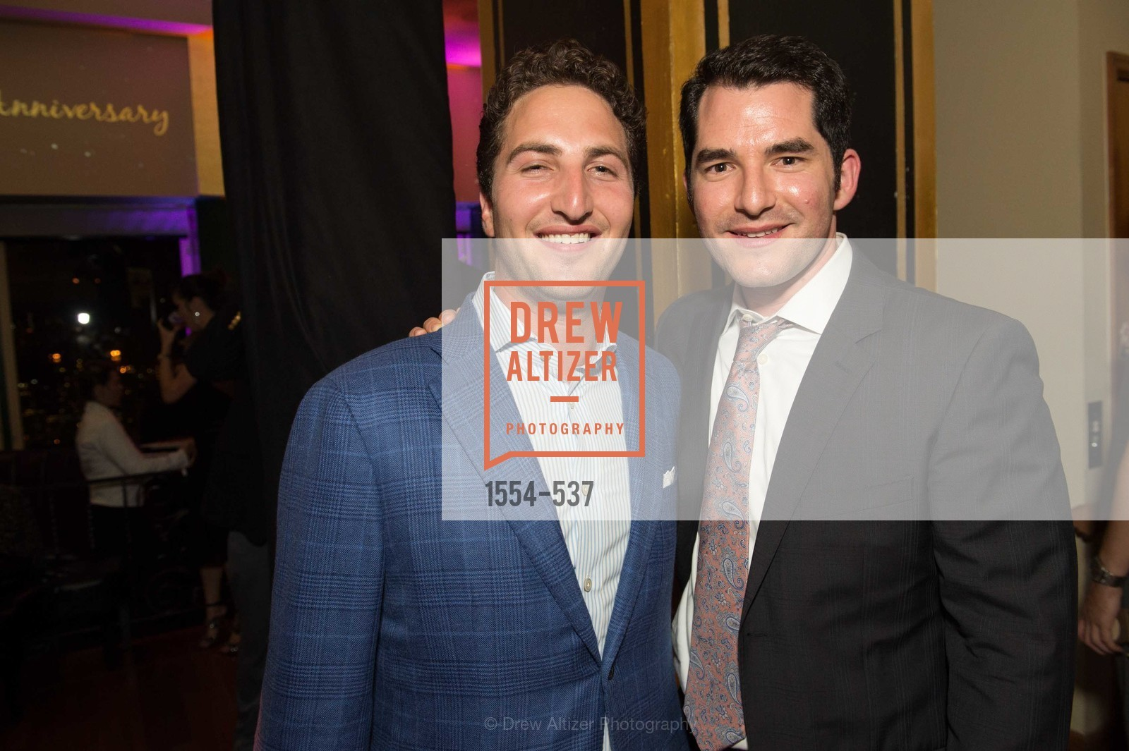 Jason Goldman, Sam Aperbach, TOP OF THE MARK'S 75TH Anniversary Party, US, November 6th, 2014,Drew Altizer, Drew Altizer Photography, full-service agency, private events, San Francisco photographer, photographer california