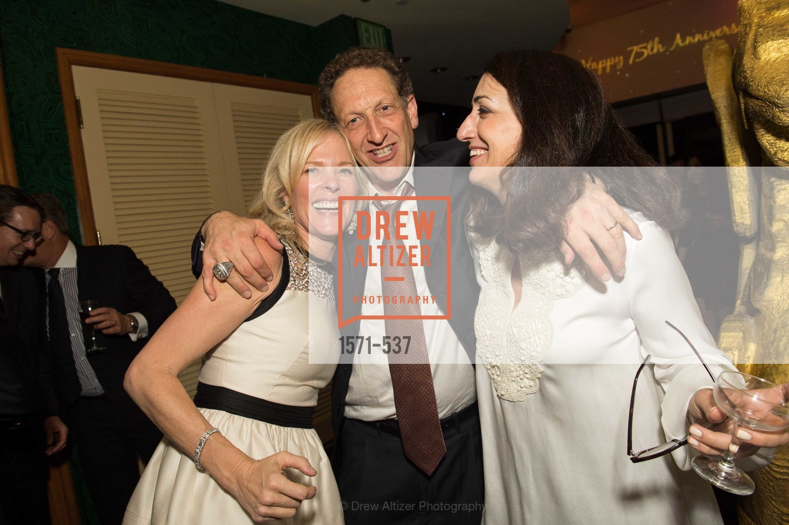 Kerri Lehmann, Larry Baer, Pam Baer, TOP OF THE MARK'S 75TH Anniversary Party, US, November 6th, 2014,Drew Altizer, Drew Altizer Photography, full-service agency, private events, San Francisco photographer, photographer california