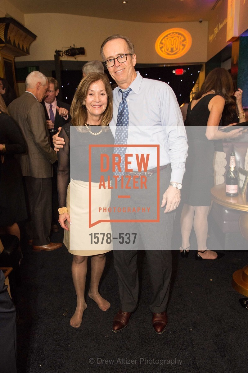 Pam Hamel, George Hamel, TOP OF THE MARK'S 75TH Anniversary Party, US, November 7th, 2014,Drew Altizer, Drew Altizer Photography, full-service agency, private events, San Francisco photographer, photographer california