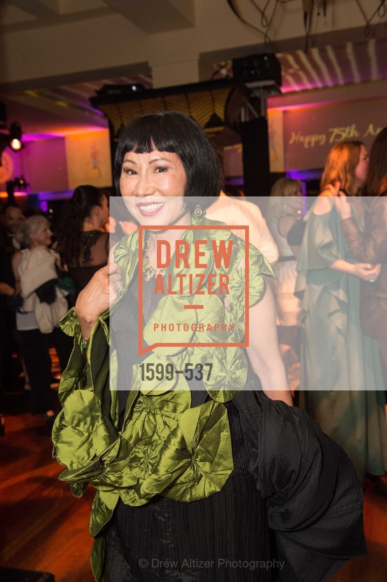 Amy Tan, TOP OF THE MARK'S 75TH Anniversary Party, US, November 7th, 2014,Drew Altizer, Drew Altizer Photography, full-service agency, private events, San Francisco photographer, photographer california