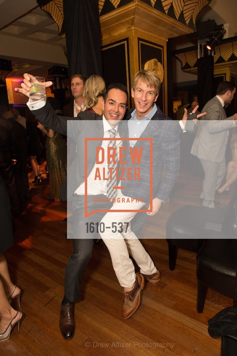 Greg Lopez, Jack Calhoun, TOP OF THE MARK'S 75TH Anniversary Party, US, November 7th, 2014,Drew Altizer, Drew Altizer Photography, full-service agency, private events, San Francisco photographer, photographer california