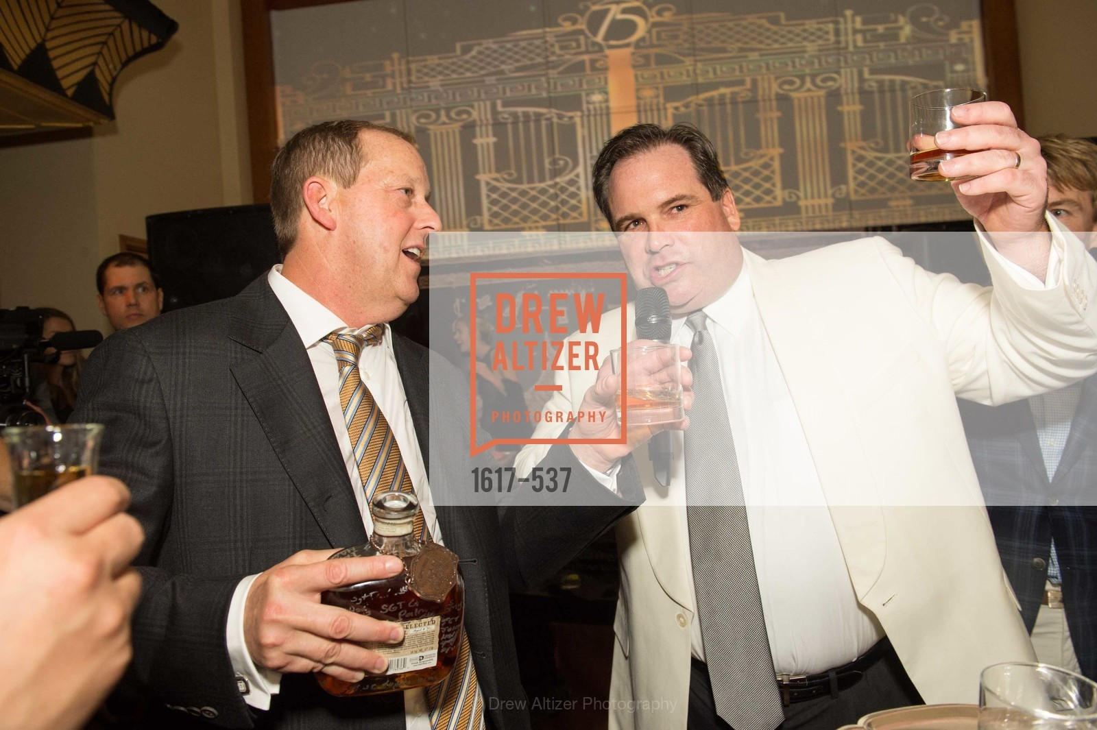 Michael Rosenfeld, John Brady, TOP OF THE MARK'S 75TH Anniversary Party, US, November 7th, 2014,Drew Altizer, Drew Altizer Photography, full-service agency, private events, San Francisco photographer, photographer california