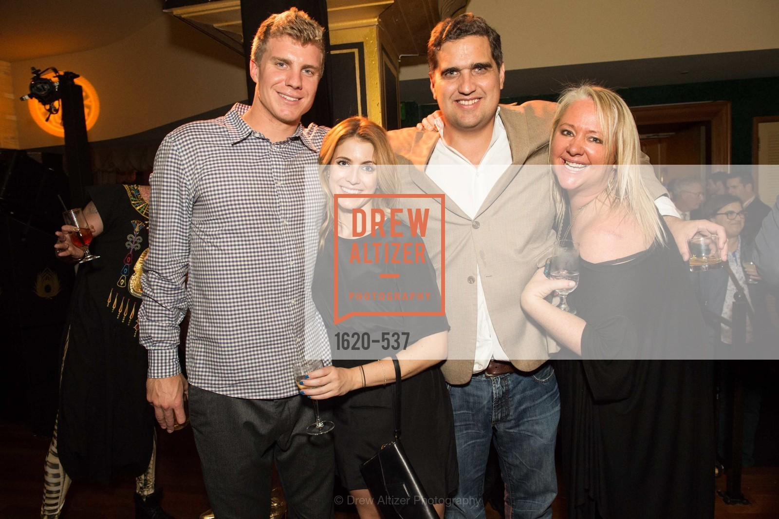 Nate Montana, Ashley Fields, Peter Stern, Lori Puccinelli Stern, TOP OF THE MARK'S 75TH Anniversary Party, US, November 7th, 2014,Drew Altizer, Drew Altizer Photography, full-service agency, private events, San Francisco photographer, photographer california