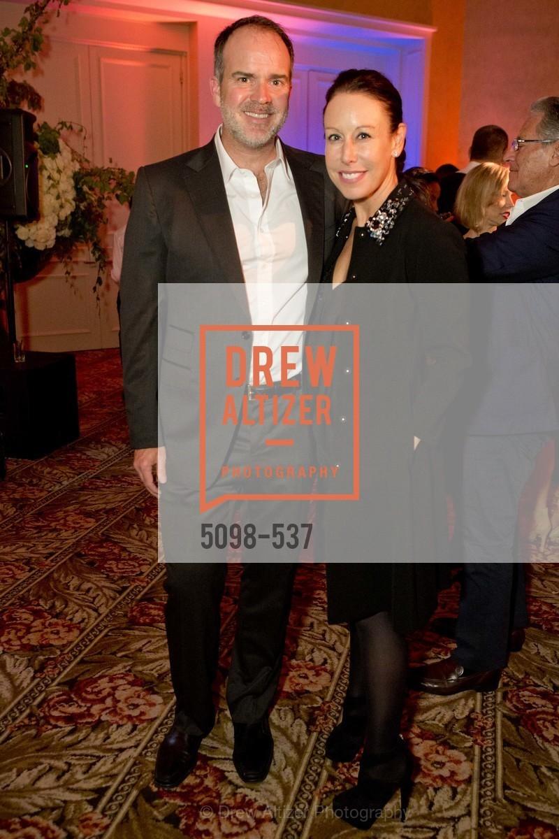 Craig McLaughlin, Maria Peevy, TOP OF THE MARK'S 75TH Anniversary Party, US, November 7th, 2014