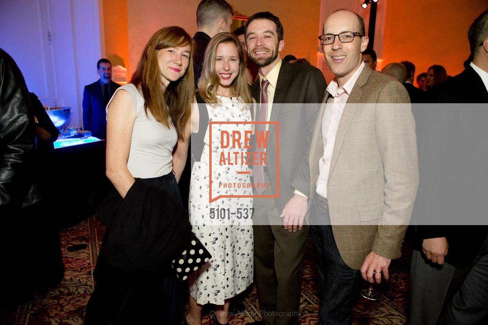 Alexis Collendine, Lauren Murrow, Tristen Arnold, John Steinbrook, TOP OF THE MARK'S 75TH Anniversary Party, US, November 7th, 2014,Drew Altizer, Drew Altizer Photography, full-service agency, private events, San Francisco photographer, photographer california