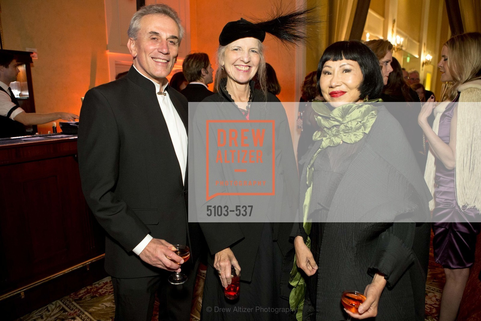 Lou DeMattei, Leah Garchik, Amy Tan, TOP OF THE MARK'S 75TH Anniversary Party, US, November 6th, 2014,Drew Altizer, Drew Altizer Photography, full-service agency, private events, San Francisco photographer, photographer california