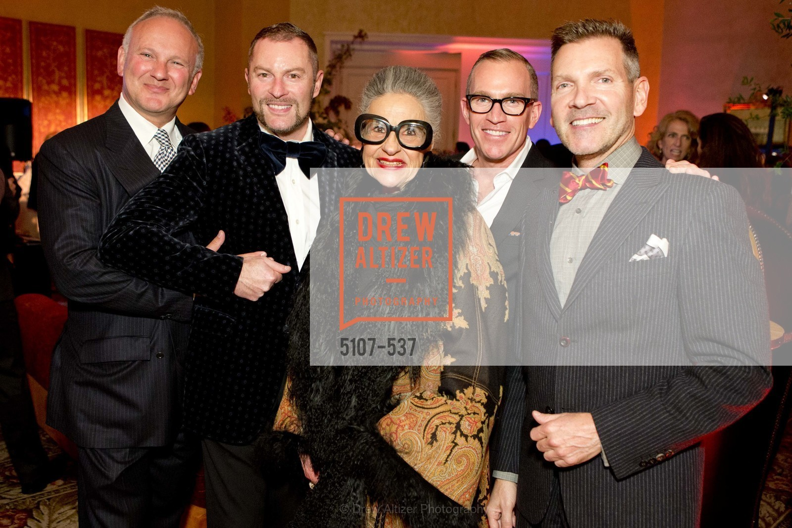 Brian Kessler, Thierry Buisson, Joy Venturini Bianchi, Gene Ogden, Eric Petsinger, TOP OF THE MARK'S 75TH Anniversary Party, US, November 6th, 2014,Drew Altizer, Drew Altizer Photography, full-service agency, private events, San Francisco photographer, photographer california