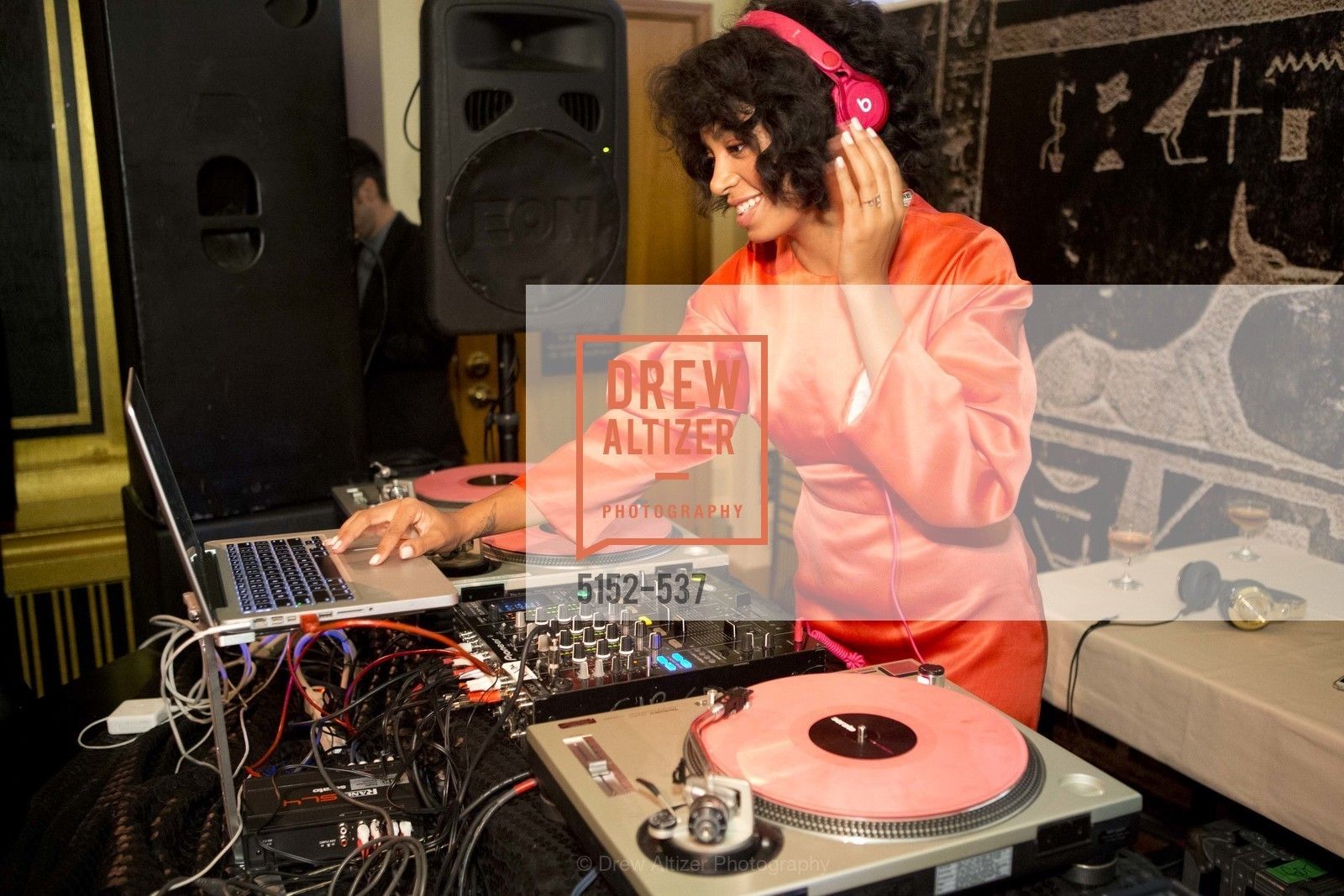 Dj, TOP OF THE MARK'S 75TH Anniversary Party, US, November 7th, 2014,Drew Altizer, Drew Altizer Photography, full-service event agency, private events, San Francisco photographer, photographer California
