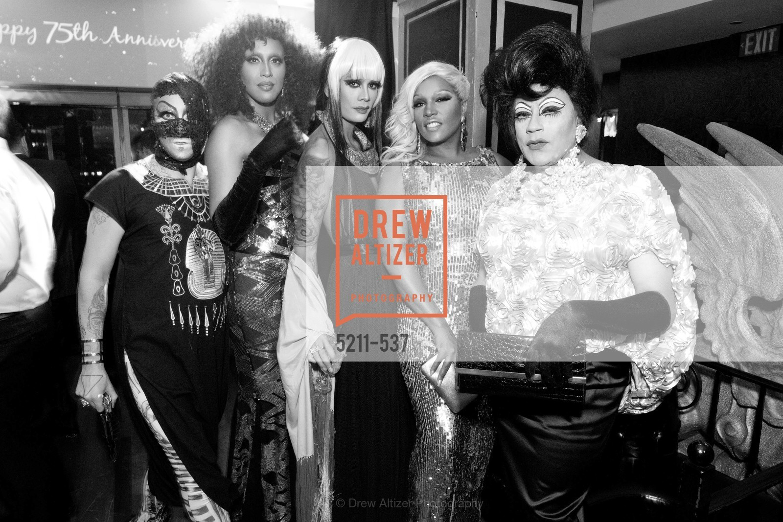 Raja, Simone Gemini, Juanita More, TOP OF THE MARK'S 75TH Anniversary Party, US, November 6th, 2014,Drew Altizer, Drew Altizer Photography, full-service agency, private events, San Francisco photographer, photographer california
