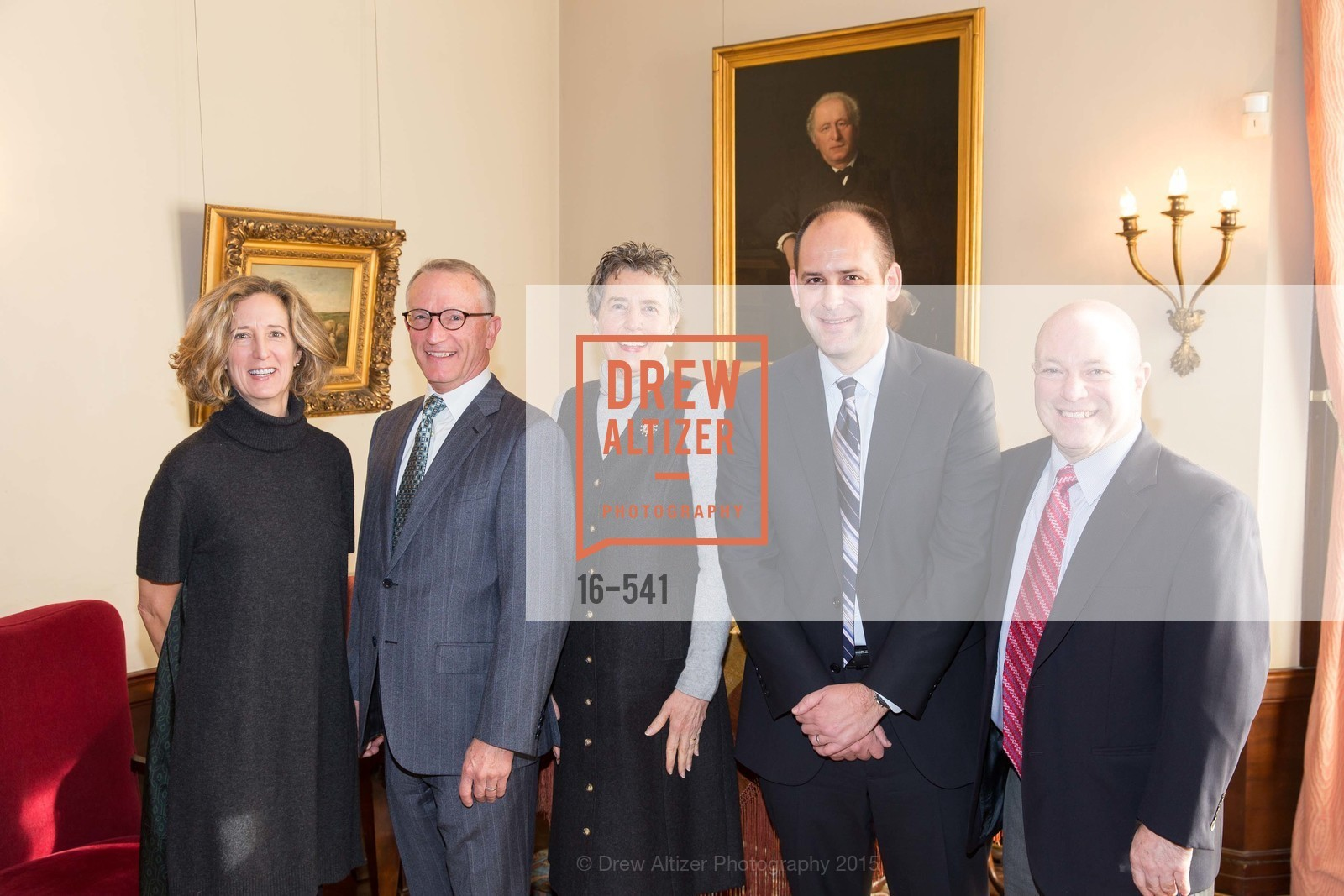 Courtney Damkroger, David Wessel, Alice Russell-Shapiro, Mike Buhler, John Rothmann, Ceremony Inaugurating the Campaign for San Francisco Heritage & Haas-Lilienthal House, Haas-Lilienthal House. 2007 Franklin Street, November 18th, 2015,Drew Altizer, Drew Altizer Photography, full-service agency, private events, San Francisco photographer, photographer california