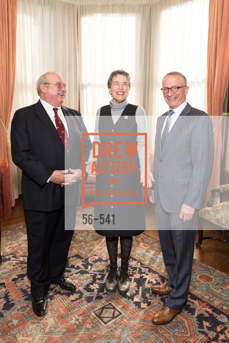 Mike Romo, Alice Russell-Shapiro, David Wessel, Ceremony Inaugurating the Campaign for San Francisco Heritage & Haas-Lilienthal House, Haas-Lilienthal House. 2007 Franklin Street, November 18th, 2015,Drew Altizer, Drew Altizer Photography, full-service agency, private events, San Francisco photographer, photographer california
